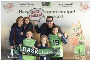 Fotos del sábado 2 de marzo - photocall Araski EL CORREO - Copa de la Reina 2019
