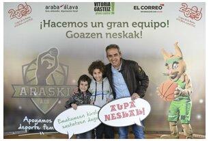 Fotos del viernes 1 de marzo - photocall Araski EL CORREO - Copa de la Reina 2019